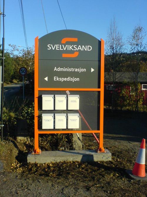 Kongsberg Tynnplate Nelstrøm Dekor skilt svelviksand